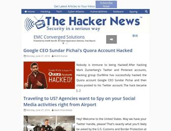thehackernews.com screenshot