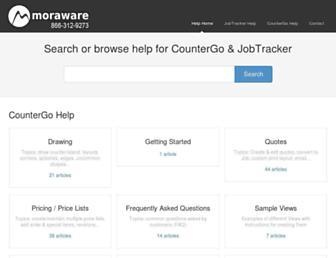 help.moraware.com screenshot