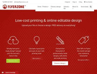 Thumbshot of Flyerzone.co.uk