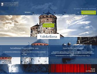 operafestival.fi screenshot