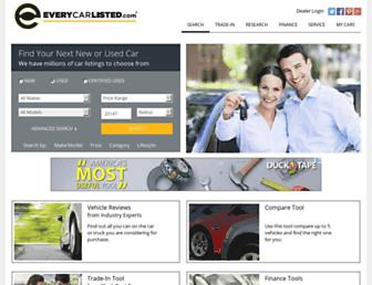 everycarlisted.com screenshot