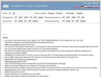 noobmeter.com screenshot