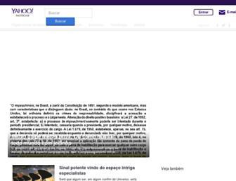 br.noticias.yahoo.com screenshot