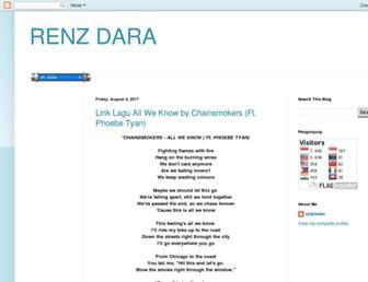 renzdara.blogspot.com screenshot