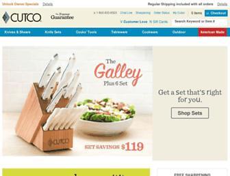 Thumbshot of Cutco.com