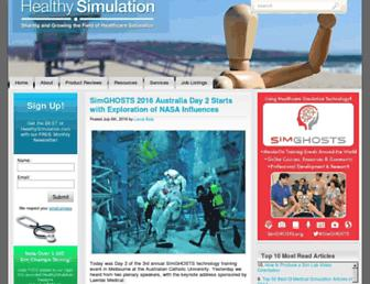 healthysimulation.com screenshot