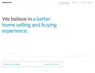 opendoor.com screenshot