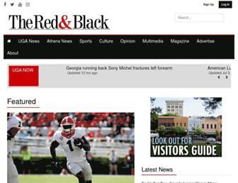 Thumbshot of Redandblack.com