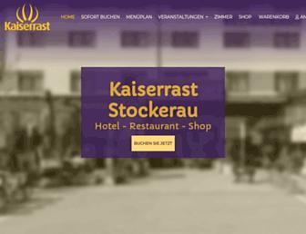kaiserrast.at screenshot