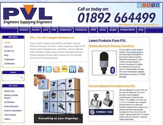 pvl.co.uk screenshot