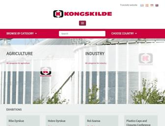 kongskilde.com screenshot