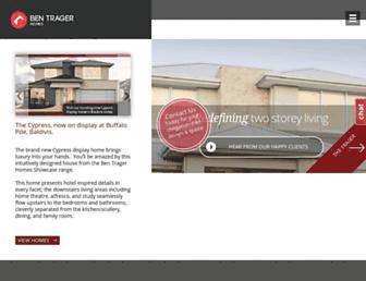 bentragerhomes.com.au screenshot