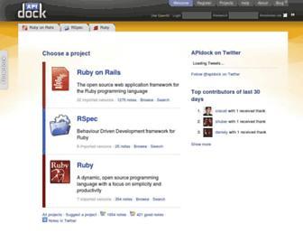 Thumbshot of Apidock.com