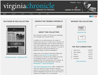virginiachronicle.com screenshot