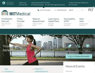 medical.mit.edu screenshot