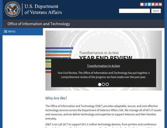 oit.va.gov screenshot