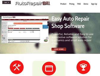 autorepairbill.com screenshot