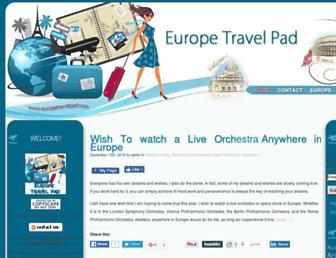 Thumbshot of Europetravelpad.com
