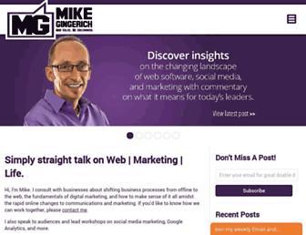 mikegingerich.com screenshot