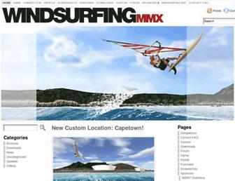 windsurfing-the-game.com screenshot
