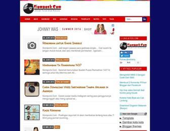 siomponk.com screenshot