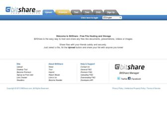 Thumbshot of Bitshare.com