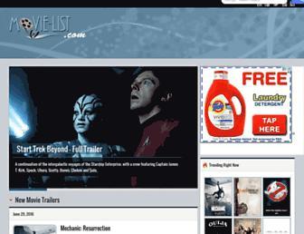 movie-list.com screenshot