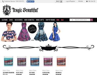 tragicbeautiful.com screenshot
