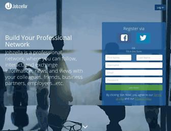 jobzella.com screenshot