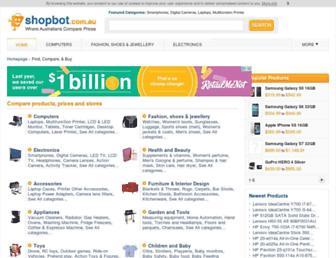 Thumbshot of Shopbot.com.au