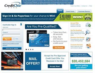 Thumbshot of Creditonebank.com