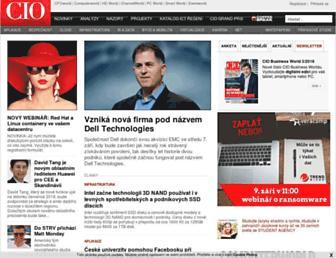 Main page screenshot of m.bw.cz