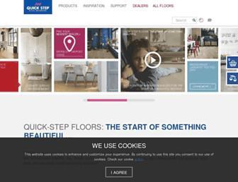quick-step.co.uk screenshot