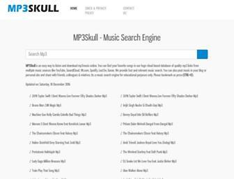 mp3skulls.uk.com screenshot