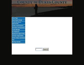 dukescounty.org screenshot