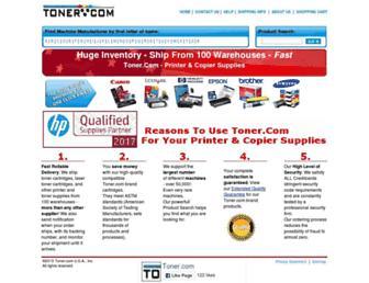toner.com screenshot