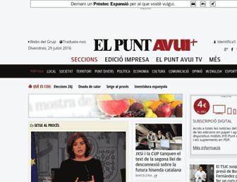 Thumbshot of Elpuntavui.cat