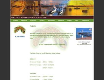 plahs.org.au screenshot