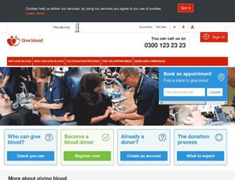 Thumbshot of Blood.co.uk