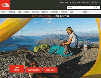 Thumbshot of Thenorthface.com