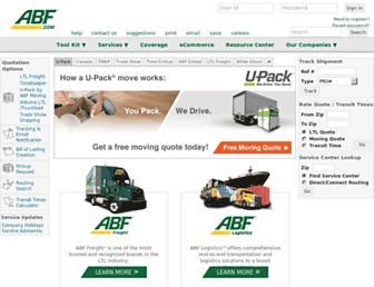 Thumbshot of Abfs.com