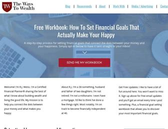 thewaystowealth.com screenshot