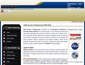iosrjen.org screenshot
