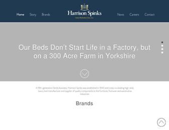 harrisonspinks.co.uk screenshot