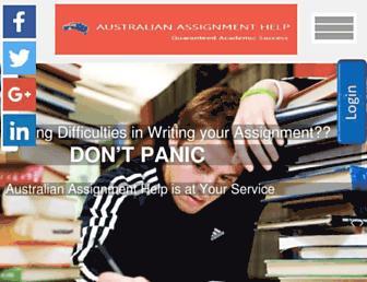 australianassignmenthelp.com screenshot