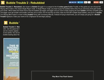bubbletrouble2.net screenshot