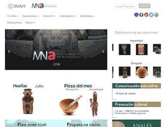 mna.inah.gob.mx screenshot