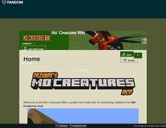 mocreatures.fandom.com screenshot