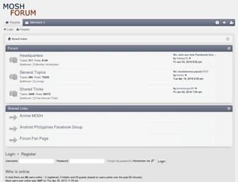 forum.mosh.ph screenshot
