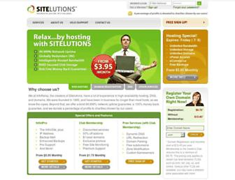 Thumbshot of Sitelutions.com